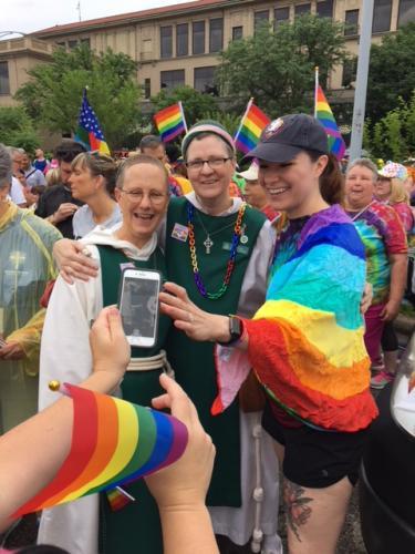 Pride Day Selfie
