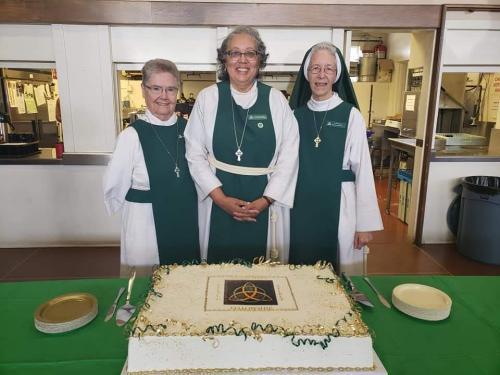 Profession celebration of Sr. Patricia Sarah (Center)