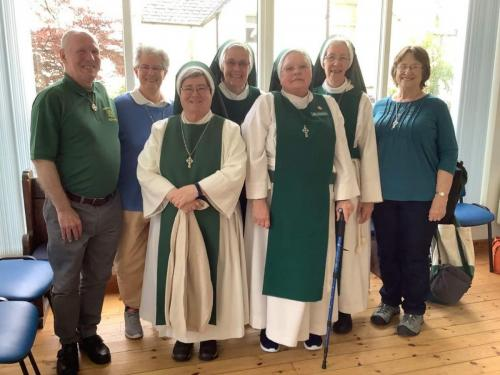 Visiting with Sr. Mandy Therese in Scotland
